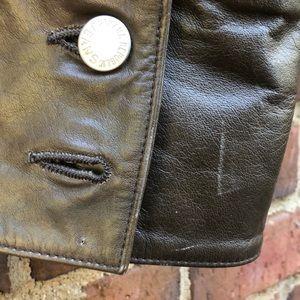 Banana Republic Jackets & Coats - Banana Republic Brown Leather Moro Jacket